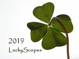 2019 Luckyscopes, Lucky Horoscopes by Terry Nazon World