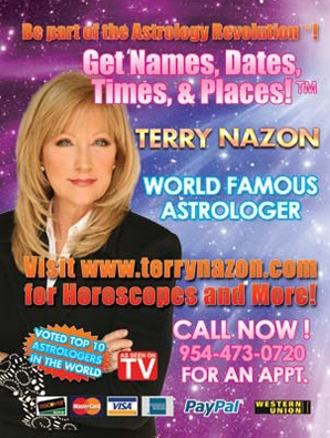 Terry Nazon Vote #1 Astrologer